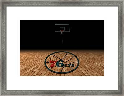 Philadelphia 76ers Framed Print