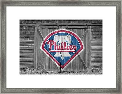 Philadelphia Phillies Framed Print by Joe Hamilton