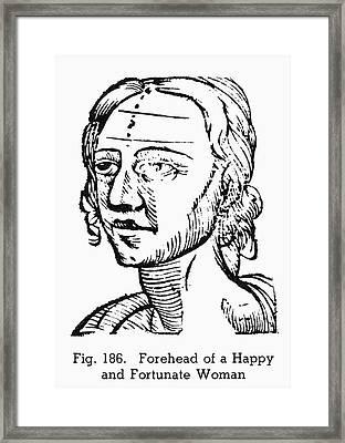 Physiognomy, 1648 Framed Print by Granger