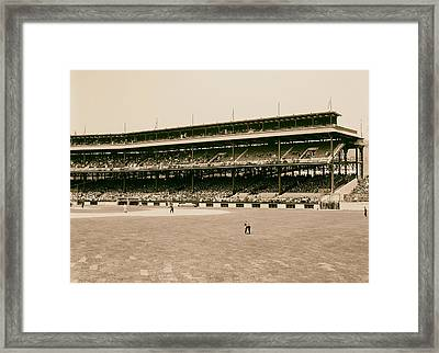 Pittsburgh's Forbes Field 1910s Framed Print