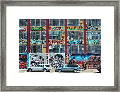 5 Pointz Graffiti Art 10 Framed Print