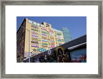 5 Pointz Graffiti Art 2 Framed Print