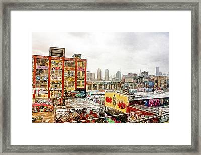5 Pointz In Itz Prime Framed Print by Nishanth Gopinathan
