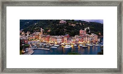 Portofino Italy Framed Print by Carl Amoth