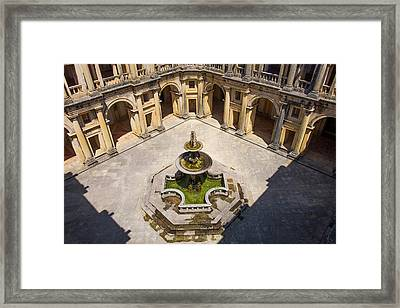 Portugal Tomar Castle, Knights Framed Print by Emily Wilson