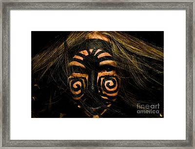 Primal Women Framed Print