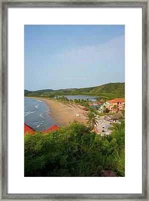 Punta Serena Villas And Spa Framed Print by Douglas Peebles