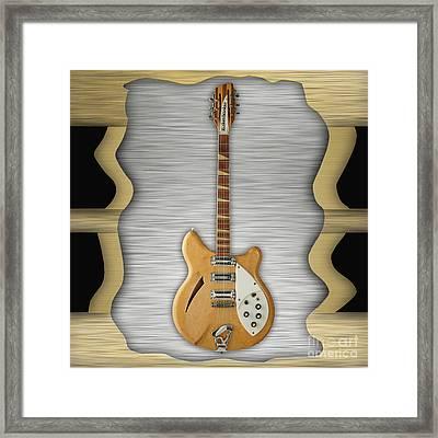 Rickenbacker Guitar Collection Framed Print