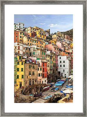 Riomaggiore Framed Print by Joana Kruse