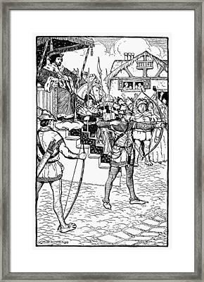 Robin Hood Framed Print by Granger