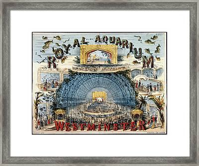 Royal Aquarium Framed Print