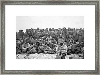Russia Convicts, C1885 Framed Print by Granger
