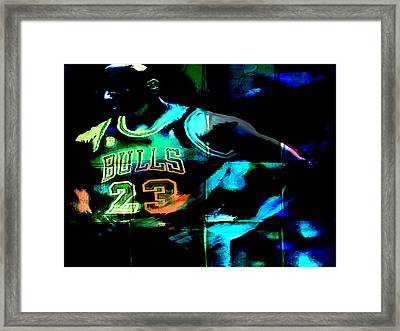 5 Seconds Left Framed Print