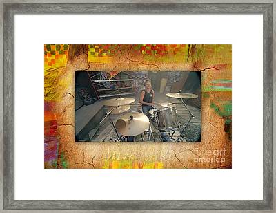5 Seconds Of Summer Framed Print by Marvin Blaine