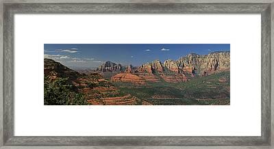 Sedona Framed Print by Gary Lobdell