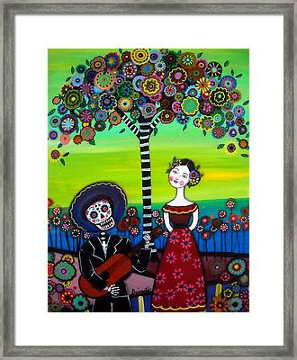 Serenata Framed Print by Pristine Cartera Turkus