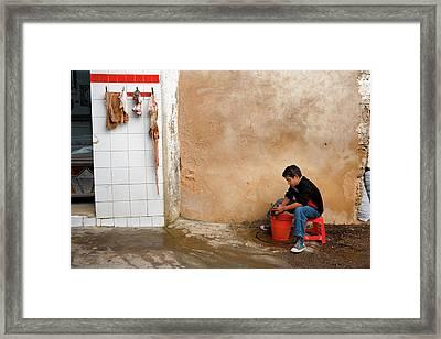 Sfax Framed Print