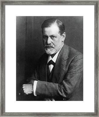 Sigmund Freud (1856-1939) Framed Print