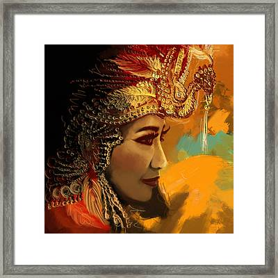 South Asian Art  Framed Print
