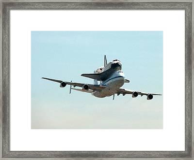 Space Shuttle Endeavour Framed Print