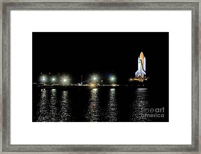 Space Shuttle Mission 135 Framed Print by Chris Cook