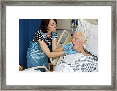Speech Therapy Clinic Framed Print