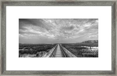 St. Joe Bay Framed Print by Twenty Two North Photography