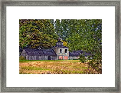 5 Star Barn Framed Print by Steve Harrington