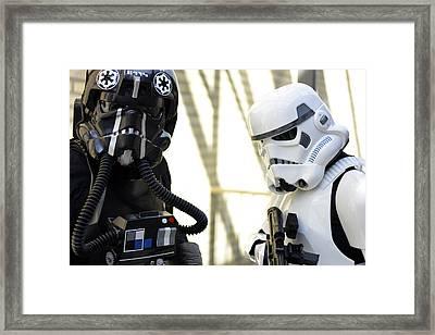 Star Wars Stormtrooper Framed Print by Tommytechno Sweden