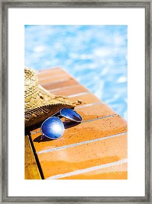 Summer Vacation Framed Print