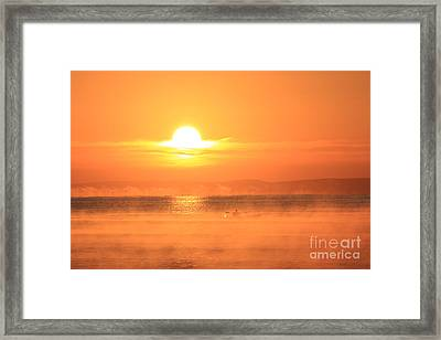 One Beautiful Morning... Framed Print