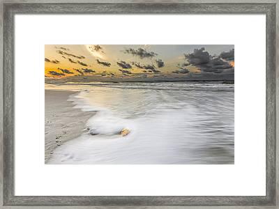 Sunrise On Hilton Head Island Framed Print by Peter Lakomy