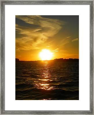 Sunset 7 Framed Print