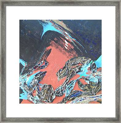 5 Tears From The Bronze Dragon Framed Print