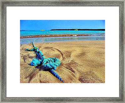 Texture Canary Islands. Framed Print by Andy Za