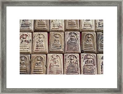 Thailand, Bangkok Amulet Market Framed Print by Cindy Miller Hopkins