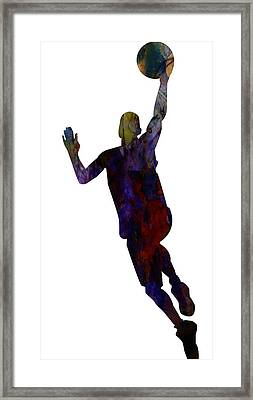 The Basket Player Framed Print by Celestial Images