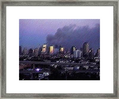The Evening Of Framed Print