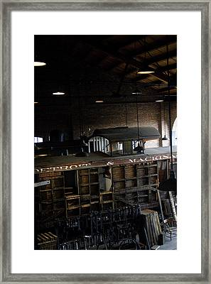 The Roundhouse Workshop Framed Print by Gary Marx