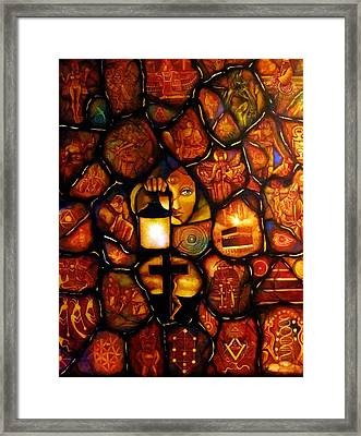 The Seeker Framed Print