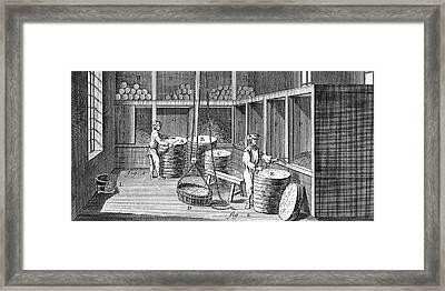 Tobacco, 18th Century Framed Print