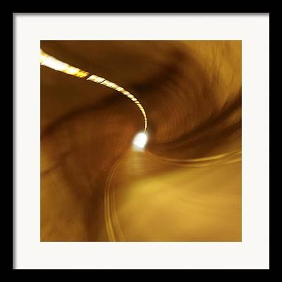 Cavern Digital Art Framed Prints