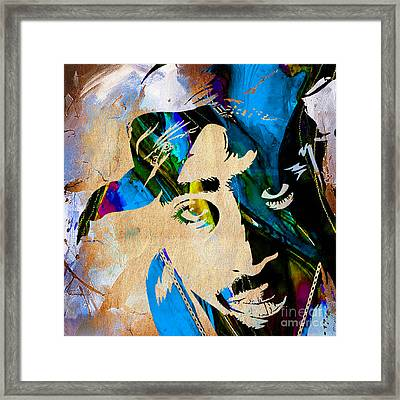 Tupac Collection Framed Print by Marvin Blaine
