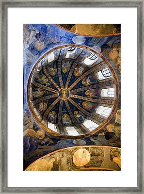 Turkey. Istanbul. Kahriye Camii Chora Framed Print by Everett