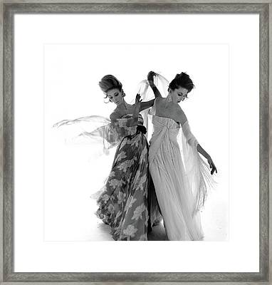 Vogue February 1st, 1961 Framed Print