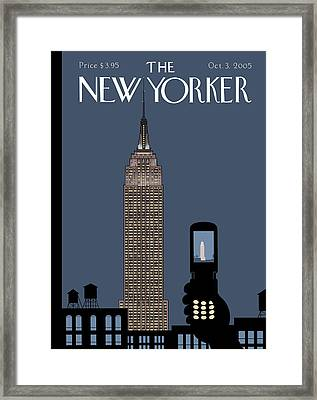 New Yorker October 3rd, 2005 Framed Print