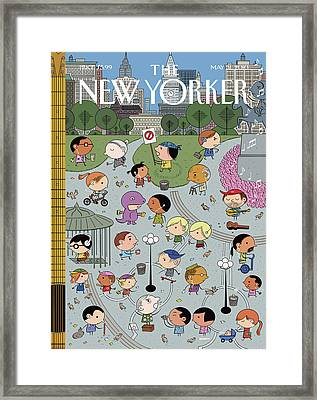 New Yorker May 31st, 2010 Framed Print