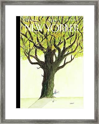 New Yorker October 15th, 2007 Framed Print