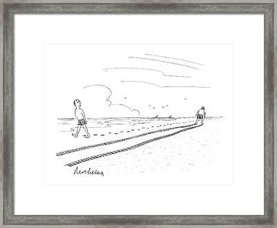 New Yorker July 7th, 2008 Framed Print