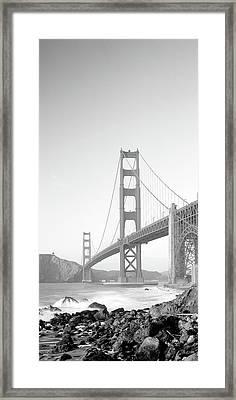 Usa, California, San Francisco, Golden Framed Print